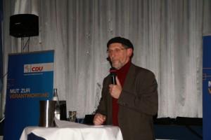 Bundesvorsitzender der Ahmadiyya Gemeinde Abdullah Uwe Wagishauser