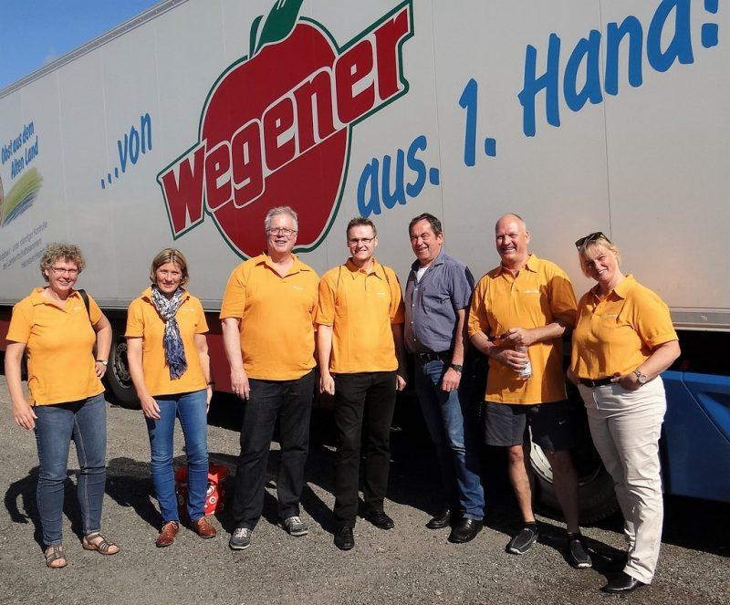 Besuch bei Firma WEGENER