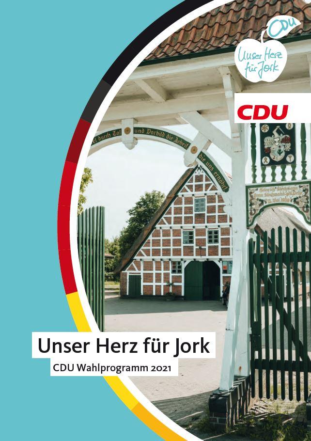 CDU Jork Wahlprogramm 2021